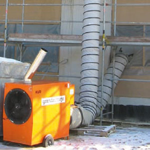 Ölheizautomat H 100, Heizleistung 86 kW