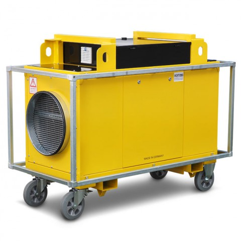GP-RENTAL Elektro Warmluftheizung E40 HP